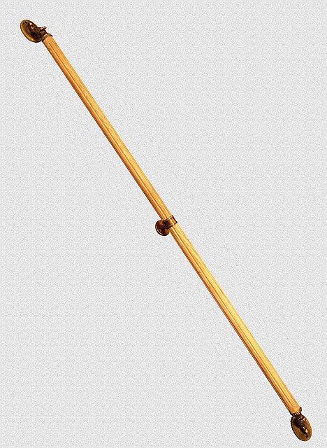 Ручка дверная опорная Александровская удлиненная с кронштейном, арт: 01-036