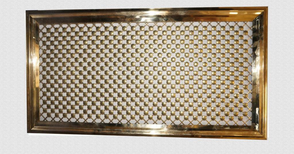 Декоративные вентиляционные решетки из латуни
