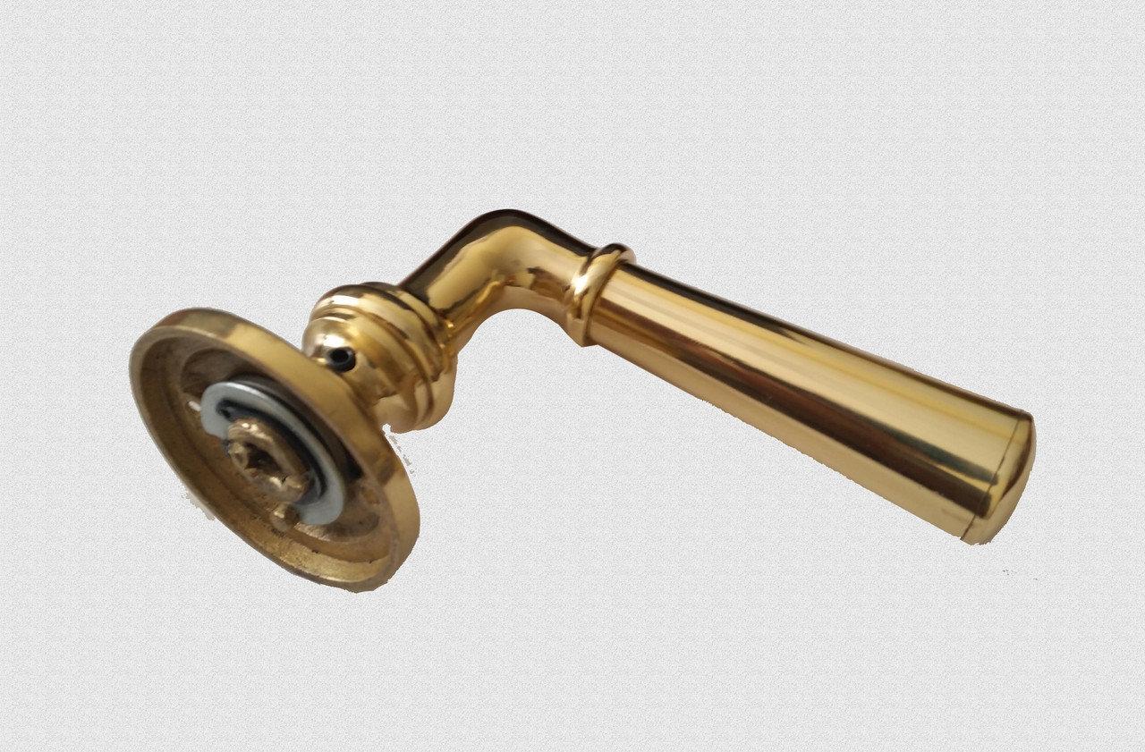 Ручка дверная поворотная Конусный цилиндр, арт: 02-021