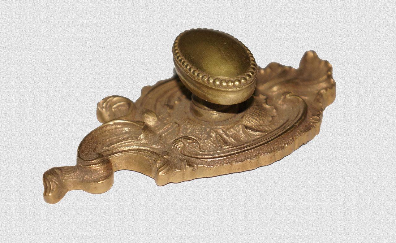 Каминная ручка Овальная с горохом, арт: 09-030