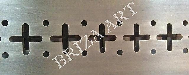 """Вентиляционная решетка """"Крестики-нолики"""" (большие), арт: 08-002"""