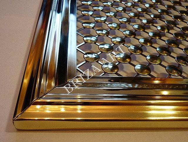 Вентиляционные латунные решетки, арт: 08-006