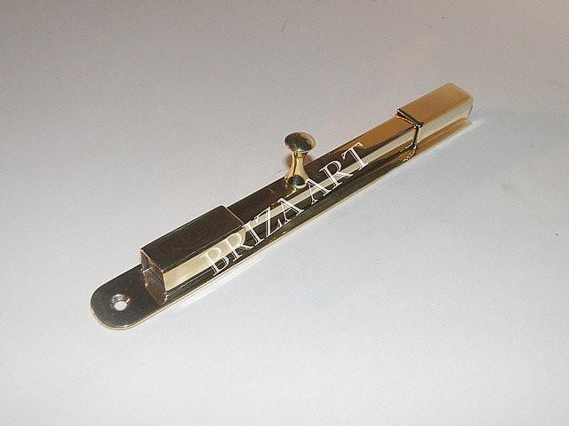 Шпингалет накладной оконный с квадратным штоком, арт: 05-004