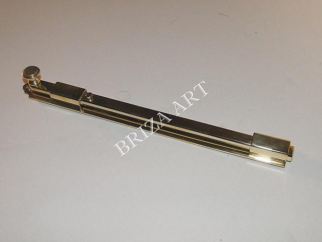 Шпингалет накладной Гатчинский с ручкой на конце, арт: 05-007