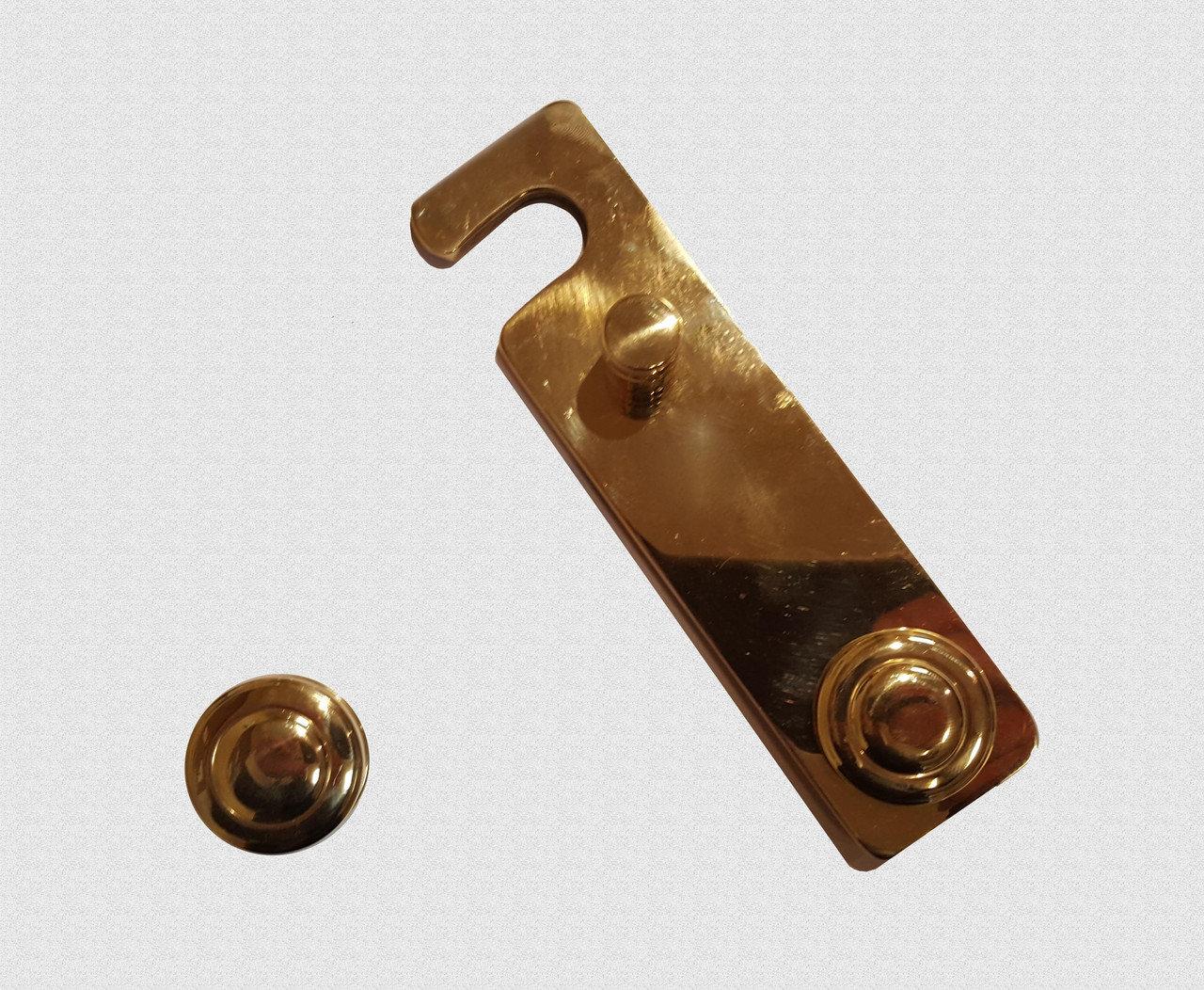 Крючок латунный большой, арт: 05-015