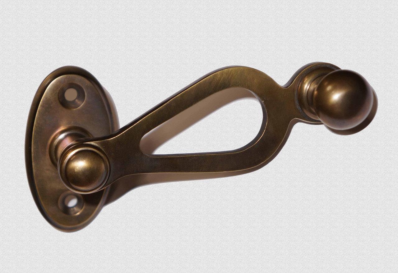 Ручка оконная Полая, патинированная, арт: 03-023-П