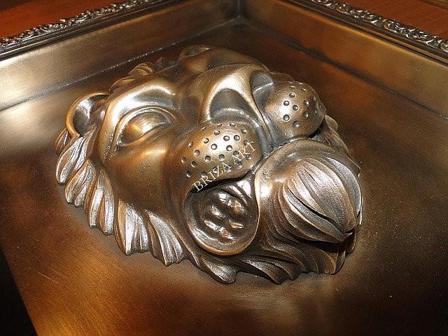 Каминная розетка Лев, арт: 09-027