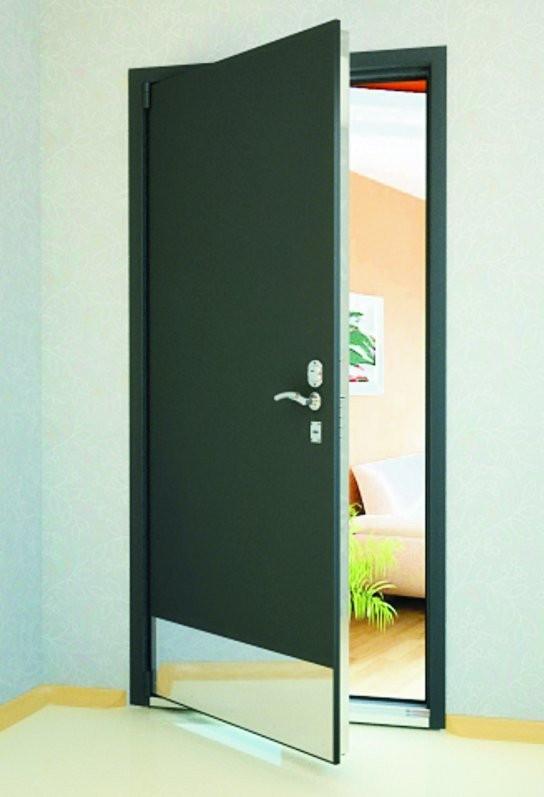 Пластина отбойная (отбойник дверной), нержавеющая сталь, арт:16-004