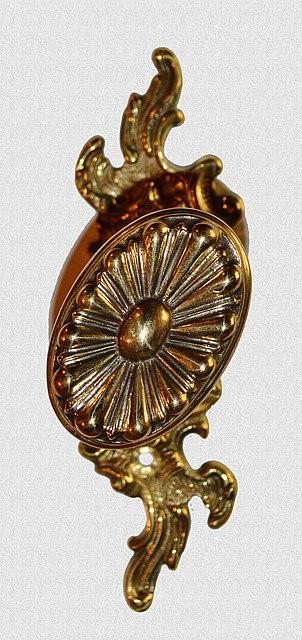 Ручка оконная Ромашка на симметричном основании, арт: 03-022