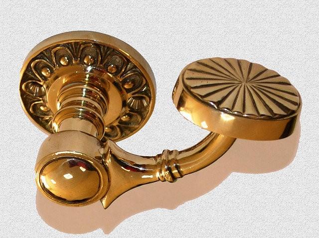 Межкомнатная дверная ручка Горбушка, арт: 02-008