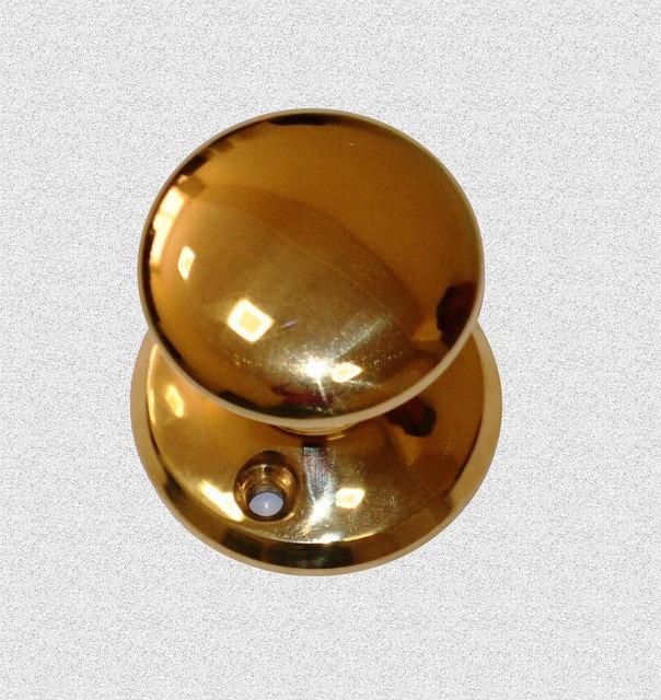Межкомнатная поворотная ручка Круглая Гладкая, арт: 02-024