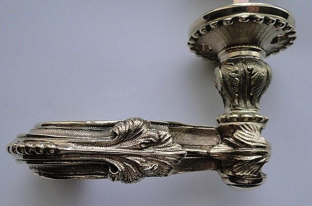 Межкомнатная дверная ручка Барочная, арт: 02-009