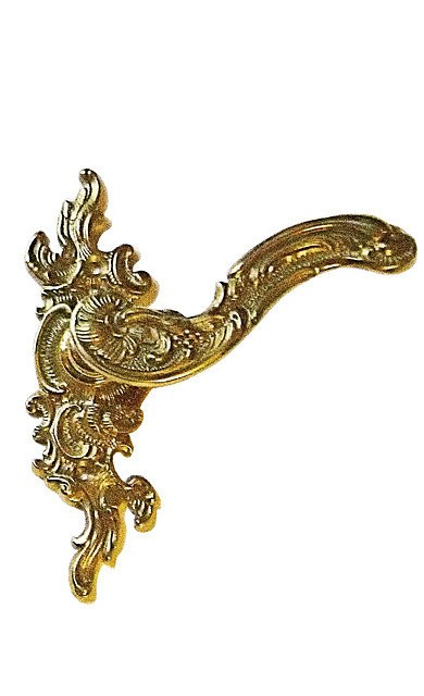 Межкомнатная дверная ручка Рококо, арт: 02-007