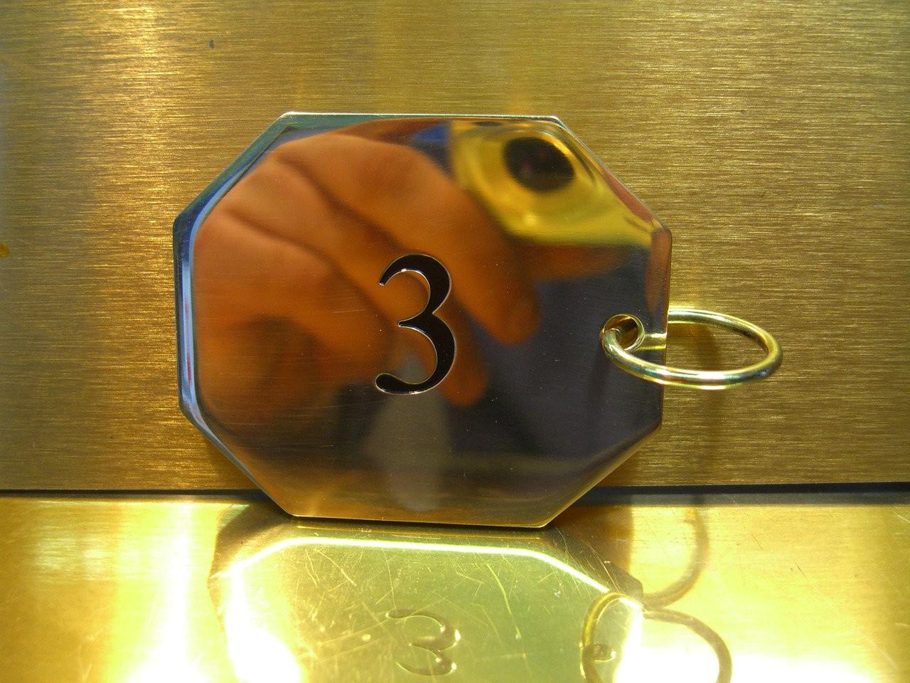 Латунные брелоки, арт: 20-003