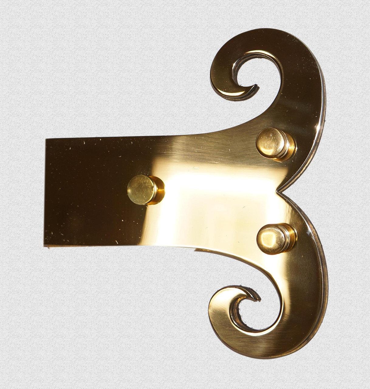 Жиковина латунная, декоративная, арт: 04-008