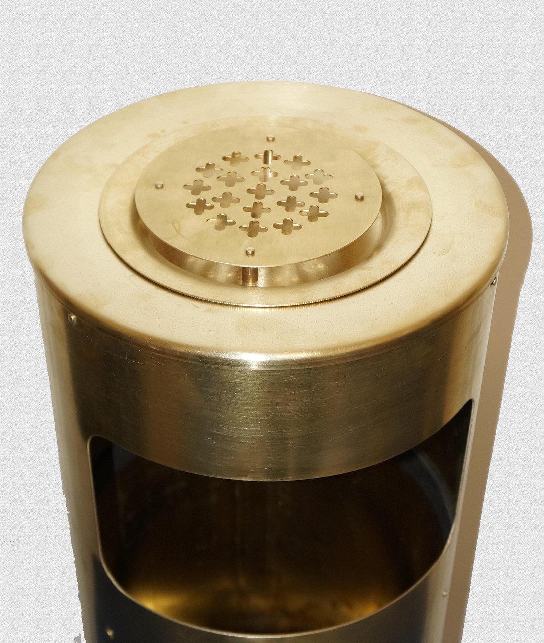 Урна-пепельница латунная, арт: 19-006