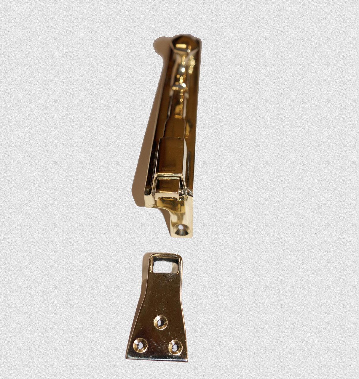 Шпингалет оконный с литой ручкой, арт: 05-008