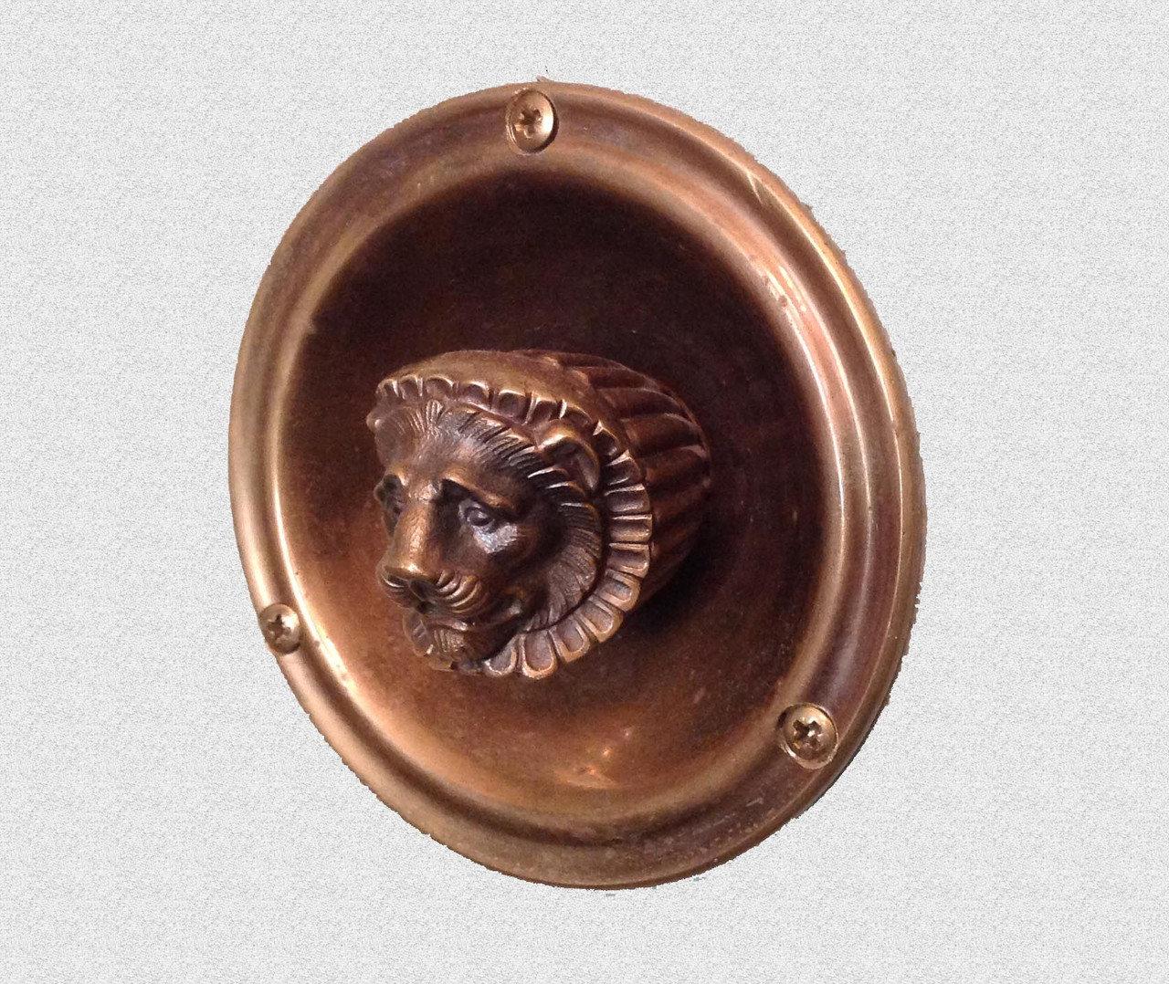 Каминная ручка Лев, арт: 09-022