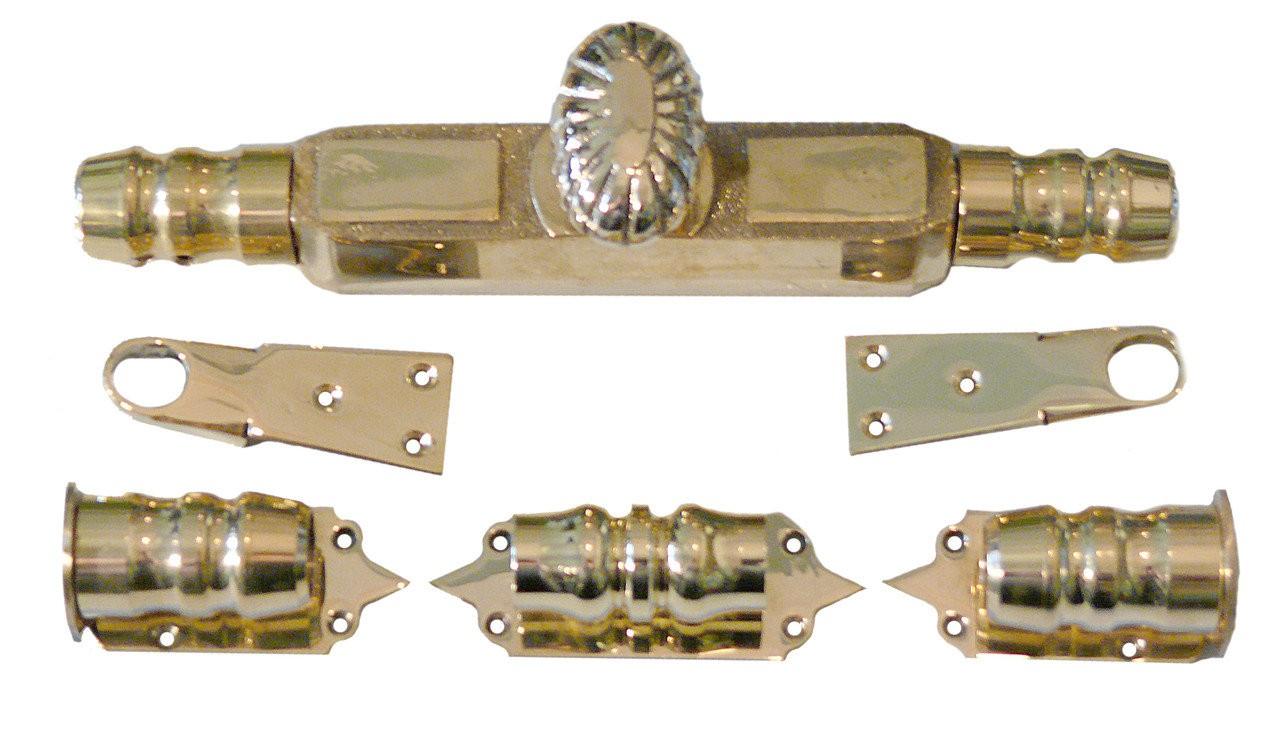 Кремона тип 2 действующая и ложная (шпингалет раздвижной), арт: 05-010-тип2