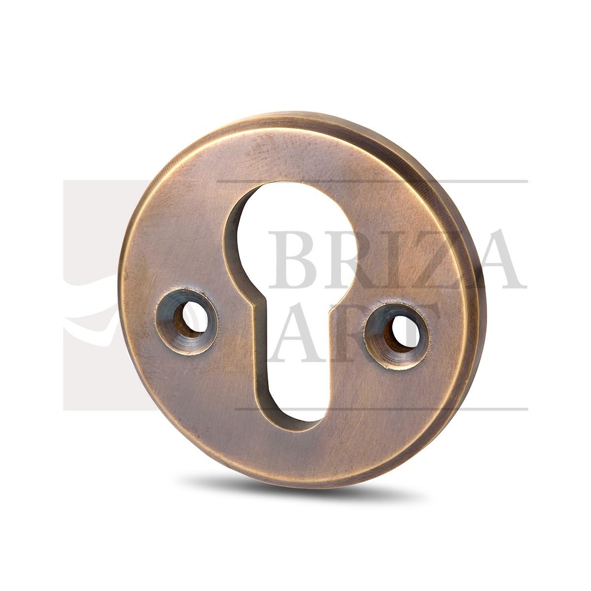 Ключевина круглая в патине, арт: 06-011