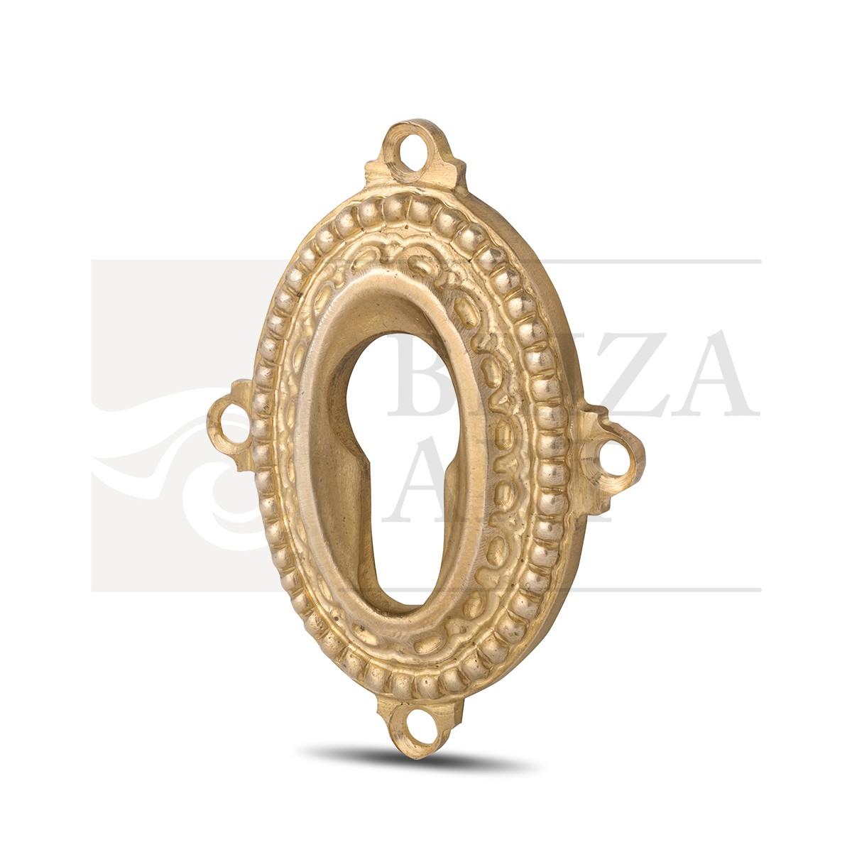 Ключевина овальная с горохом и отверстиями для крепежа, арт: 06-011