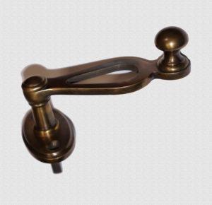 Ручка оконная Полая на эллипсном основании, арт: 03-023