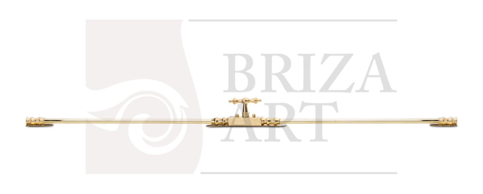 Шпингалет раздвижной Токарный общий вид, арт: 05-010-ПТ