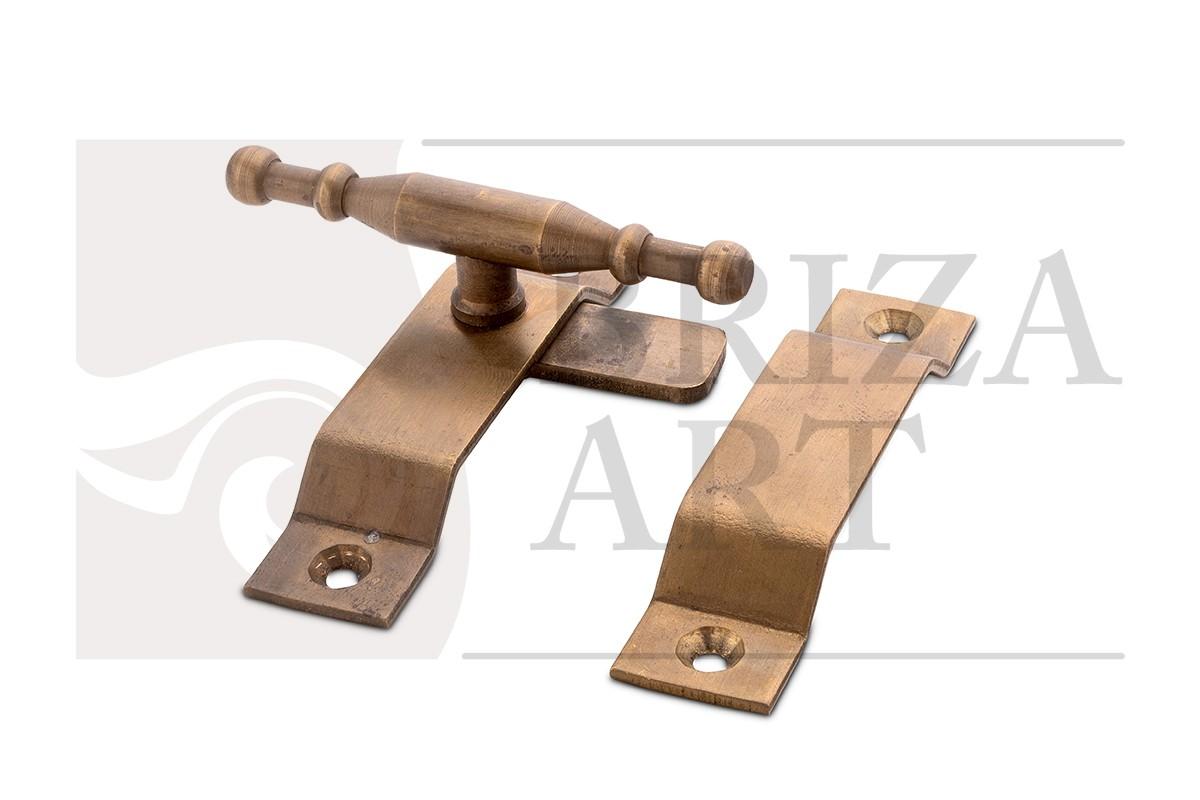 Форточная завертка/фиксатор Т-образный большой, арт: 05-013-3