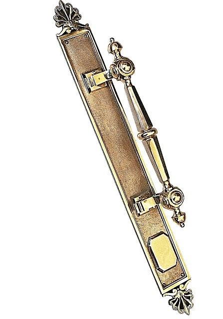 Ручка дверная опорная Куб Виктория на пластине, арт: 01-030