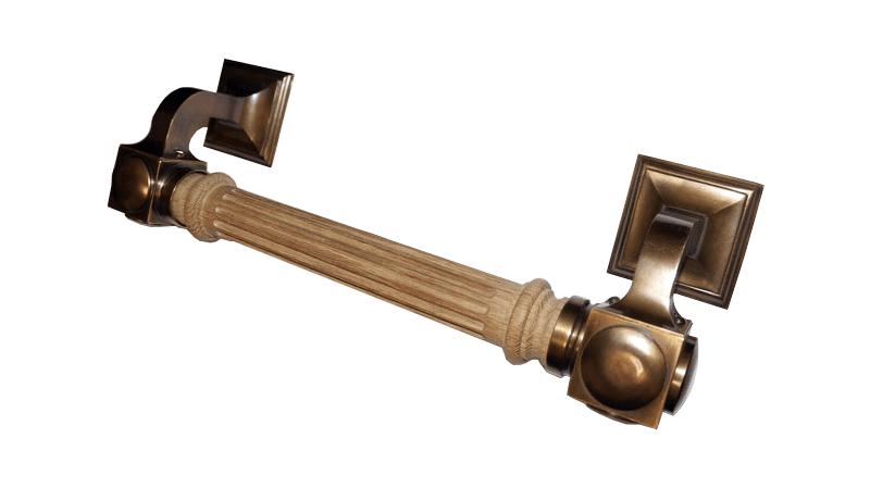 Ручка дверная опорная Куб Монумент, арт: 01-067