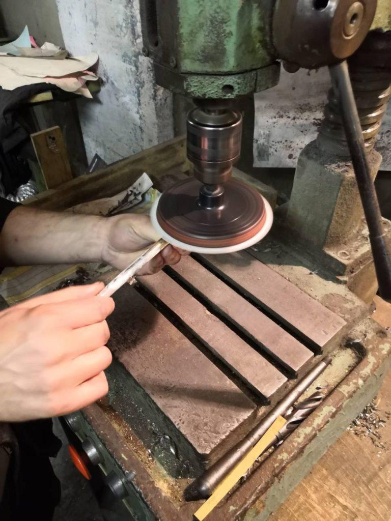 Реставрация латунных изделий