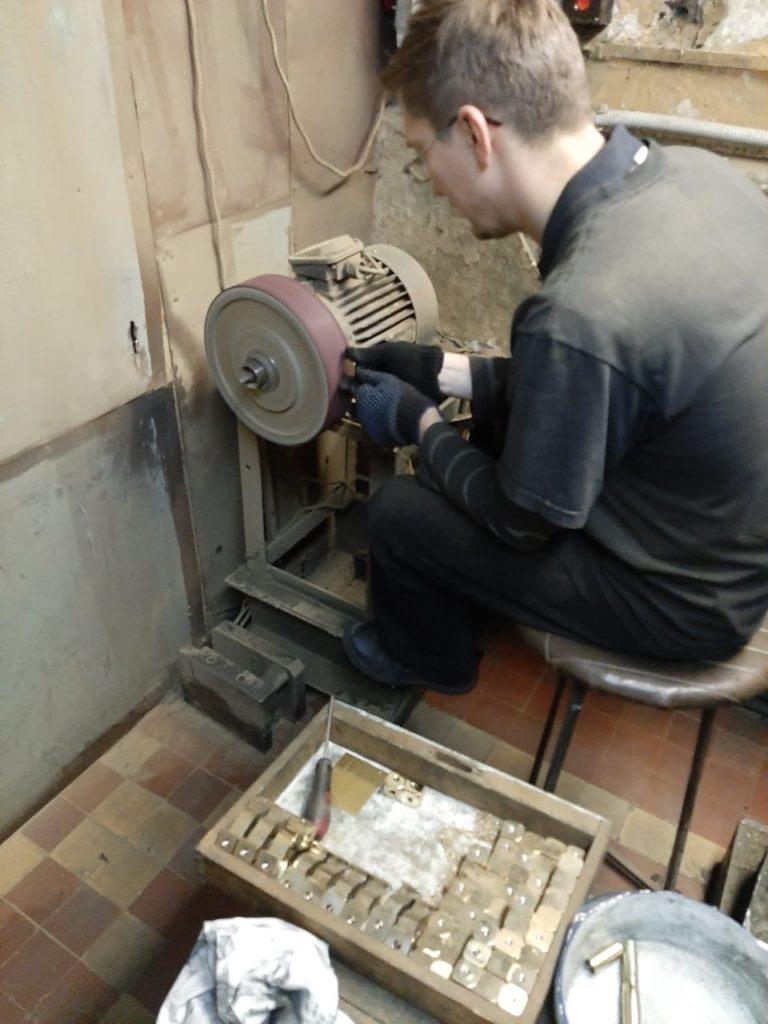 Реставрация латуни и бронзы