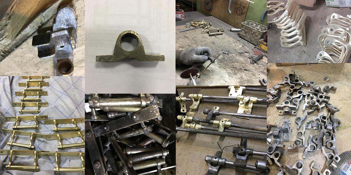 Реставрация изделий из латуни
