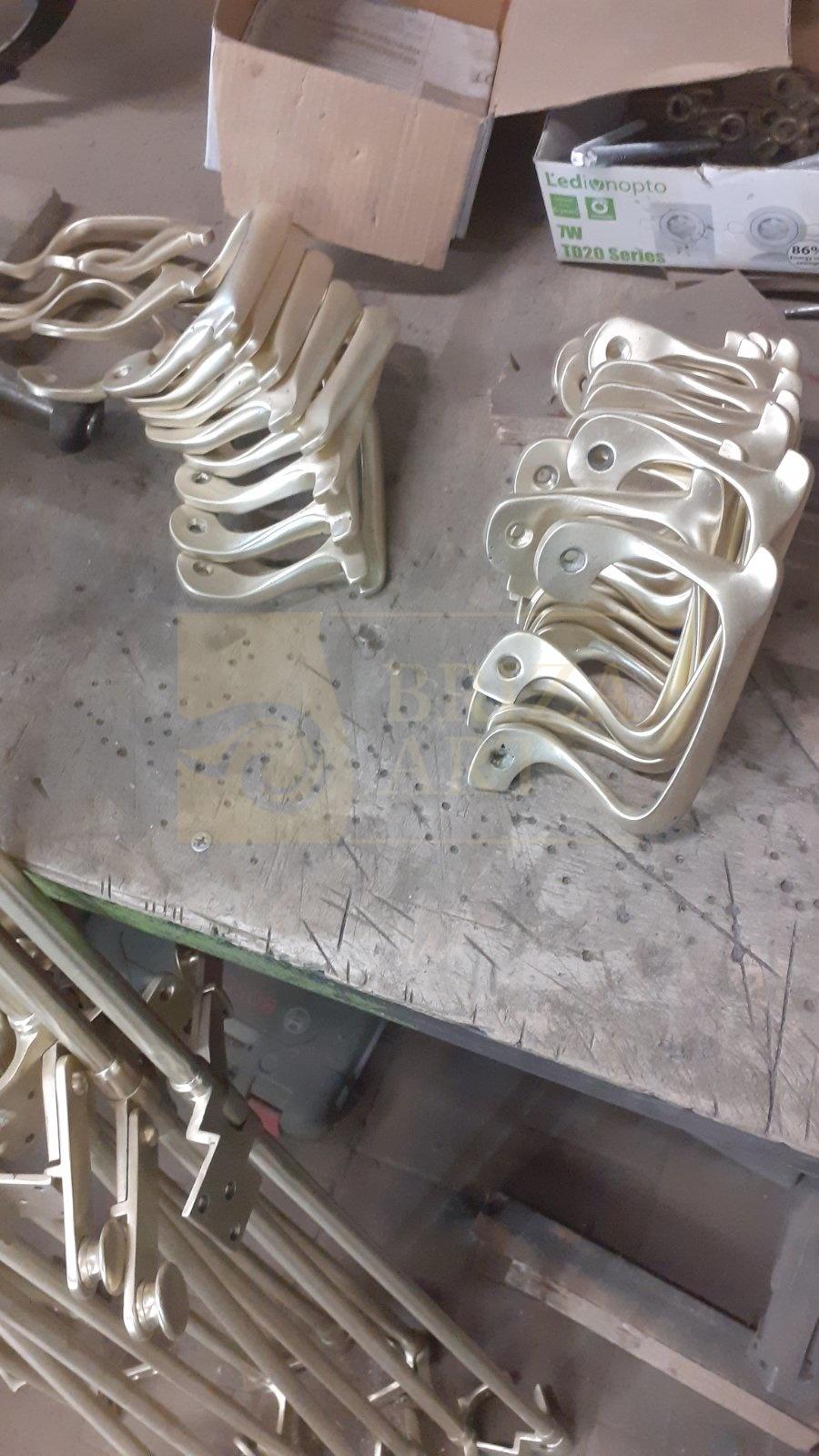 Реставрация прижимных шпингалетов (эспаньолет)