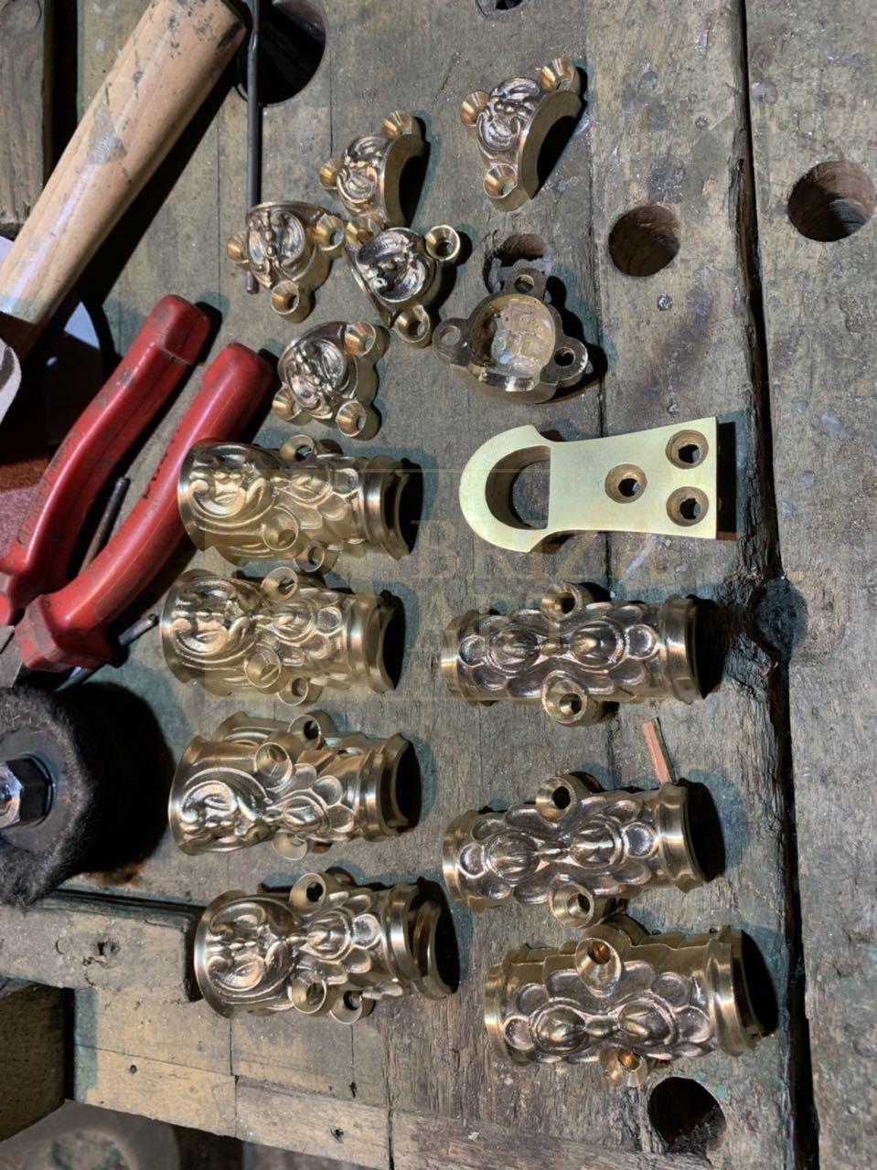 Реставрация шпингалетов и дверных ручек
